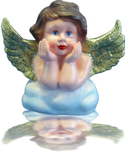 Deko Engel Figur Weihnachtsdeko