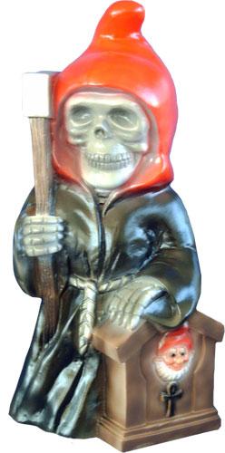 Halloween Deko Figur Sensenmann Totenkopf